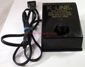 Vintage K-Line K-950 Transformer/Power Pack~17VAC~20VA Max.