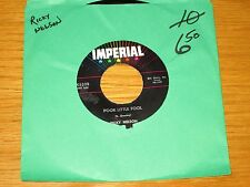 """RICKY NELSON 45 RPM - IMPERIAL 5528 - """"POOR LITTLE FOOL"""" & """"DON'T LEAVE ME..."""""""