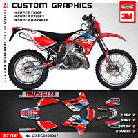 Kungfu Graphics MX Decal for GAS GAS EC 125 200 250 300 2002 2003 2004 2005 2006