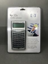 Hp 33S Scientific Calculator - New In Plastic Package Never Opened