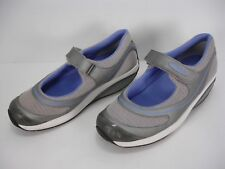MBT MASAI BARIDI SILVER PURPLE MARY JANE ATHLETIC SHOES WOMEN'S 7