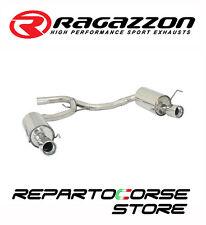 RAGAZZON SCARICO SDOPPIATO TERMINALI TONDI ALFA ROMEO 159 2.0JTDm 125kW 170CV