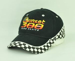 OTTO Collection 2014 Sunset 300 Road Racing Black Adjustable Hat Cap Curved Bill