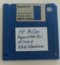 Software On 35 In Disk For Hp Philips Pagewriter Xli M1700a Ekg Ecg Machine