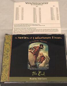 a series of unfortunate events book 13 Audiobook CD