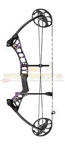 "Mission by Mathews Radik Compound Bow Right Hand Purple Spl DL 17-28"" DW 10-50#"