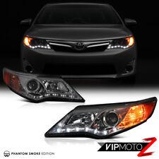 [Getöntes Glas] 2012-2014 Toyota Camry Vorne Led DRL Scheinwerfer Projektor