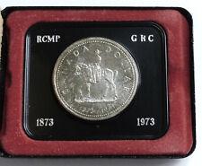 53053172 - Canada Silver Dollar 1973 RCMP Silber (500)