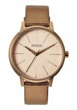 Nixon Kensington Leather Watch New Women MSRP: $125