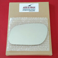 NEW Mirror Glass + ADHESIVE 98-11 CROWN VICTORIA MARQUIS Driver Left Side LH