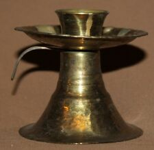 Vintage small brass candle holder