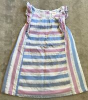 GYMBOREE Size 2 Cotton Lined Cute Flutter Sleeve Summer Dress VGC. Combined Post