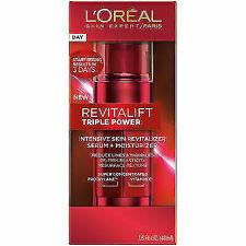 L'Oreal Revitalift Triple Power Intensive Skin Revitalizer Serum & Moisturizer