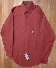 NWT ARROW Fitted Dress Shirt Textured No-Iron Cotton Blend 14 1/2 x 32/33 (LS725