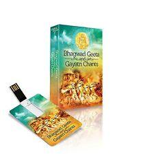 BHAGWAD GEETA AND GAYATRI CHANTS USB MUSIC CARD / 151 TRACKS / TIMES MUSIC