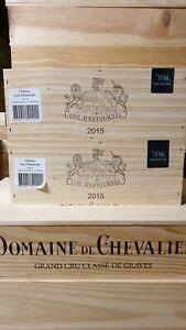 1 bouteille COS ESTOURNEL 2015 coffret bois x 1
