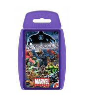 Marvel Universe Super Hero TOP TRUMPS - Card Game - Whose Your Hero