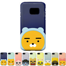 Kakao Friends Pearl Face Protect Bumper Cover Case For Samsung Galaxy S7 Edge