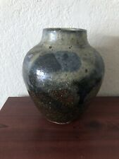 Hand Made Stoneware Vase Signed