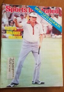 Sports Illustrated April 19 1976 Sport Gets Religion w/label Free Shipping!