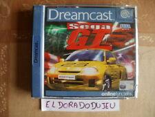ELDORADODUJEU >>> SEGA GT Pour DREAMCAST AVEC LE DOS DE F1 WORLD GRAND PRIX II