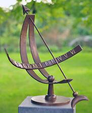 Bronzeskulptur Sonnenuhr Dekoration für ihren Garten *