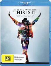 Michael Jackson's - This Is It (Blu-ray, 2010) A,B.C...ex-rental