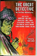 Sherlock Holmes, THE GREAT DETECTIVE, original new trade pb crime pulp anthology