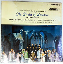 THE PIRATES OF PENZANCE  sealed LP D'OYLY CARTE DIRECTS