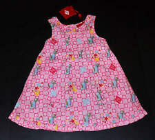 NWT Oilily Summer of Love~Dress HAPPY HORSE Pink SOETJES Apron Dress 104 3 4 5