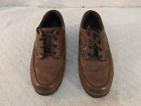 Adult Men's Nunn Bush Cameron Oxfords Casual 11 M Brown Leather Shoes 34047