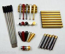 Woodturning Fancy Slimline Mixed Pen Kit Sets x 5 - Set No: 1