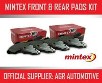 MINTEX FRONT AND REAR BRAKE PADS FOR FIAT 500 1.4 2007-13