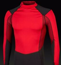 Under Armour Thermo WInd Block Mock Red/Black men's 1232658 RRP £65 Large
