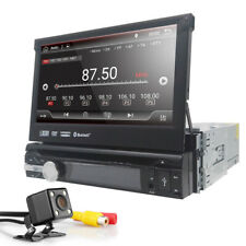 """1 Din 7"""" Android 9.0 Retractable screen Car Stereo GPS DVD Radio Bluetooth WIFI"""