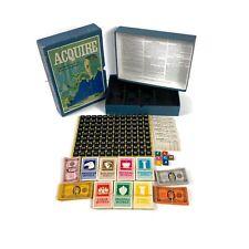 Vintage 1971 Acquire 3M Bookshelf Game Complete