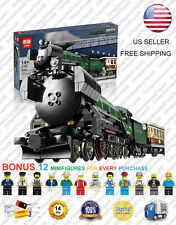 21005 Emerald Night Steam Train 10194 Creator Custom Building Blocks 1085 Pcs