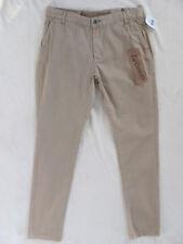 Original Paperbacks Pants- Khaki/Beige- 100% Cotton - Size 30 L32- NWT $110