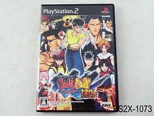 The Battle of Yu Yu Hakusho 120% Full Power Playstation 2 Japanese Import PS2