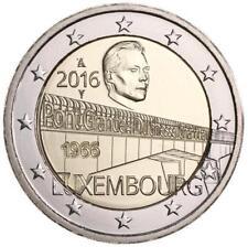 2 Euro Luxemburg 2016 Großherzogin-Charlotte-Brücke BU