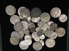 1/4 POUND LB BAG 90% SILVER COINS U.S. MINTED NO JUNK PRE 1965