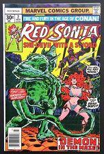 Red Sonja #2 Vf- Marvel 1977 Conan High Grade Marvel Comic