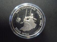 Süd Korea - 5000 Won - Olympia Seoul 1988 - Silber - PP - Schaukeln