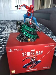 Marvel Spider-Man PS4 Collectors Edition Statue Figure Insomniac Games