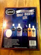 Zymol Premium Car Care Kit Detailer Wax Polish Wash Leather Cleaner w Wooden Box