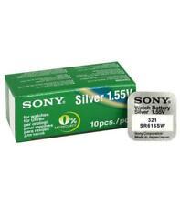 Sony SR616SW SR-Type 1.55V Óxido de plata Batería (321)