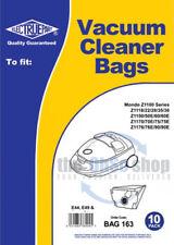 10x ELECTROLUX Vacuum Cleaner Bags E44, E49, E49N TYPE - MONDO Z1175E, Z1176