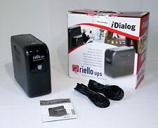 RIELLO UPS / USV iDialog 80 - 800 VA/480 W - 220-240 VAC 50Hz - STROMVERSORGUNG