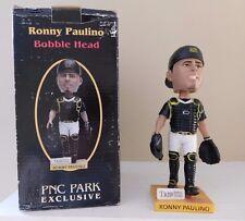 Ronny Paulino  PITTSBURGH PIRATES 2007 bobble head PNC PARK
