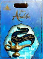 """New Disney Aladdin Trading Pin """"Wishes Come True"""" Magic Lamp -In Packaging"""